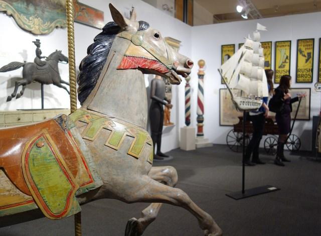 Carousel horse, Gemini Antiques Ltd.