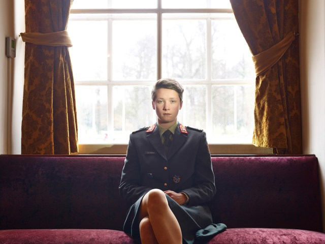 Third Prize Portraits Category, Stories Paolo Verzone, Italy, Agence Vu Breda, The Netherlands Cadet in the Koninklijke Militaire Academie Story: Portraits of cadets from the most important military academies of Europe.