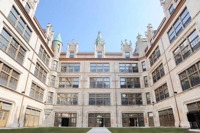The exterior of El Barrio's Artspace PS109 (courtesy Artspace, photo by Christopher Lopez)
