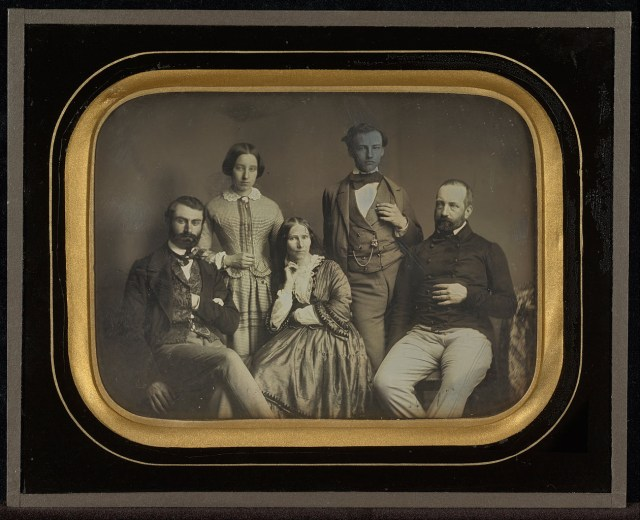 "Jean-Gabriel Eynard, ""Charles and Sophie Eynard and Their Children"" (1856), daguerreotype (J. Paul Getty Museum, via Wikimedia)"