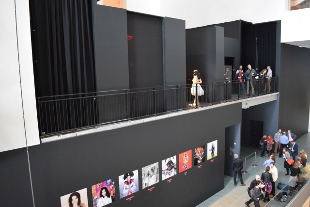 Installation view, 'Björk' at MoMA (photo by Benjamin Sutton/Hyperallergic) (click to enlarge)