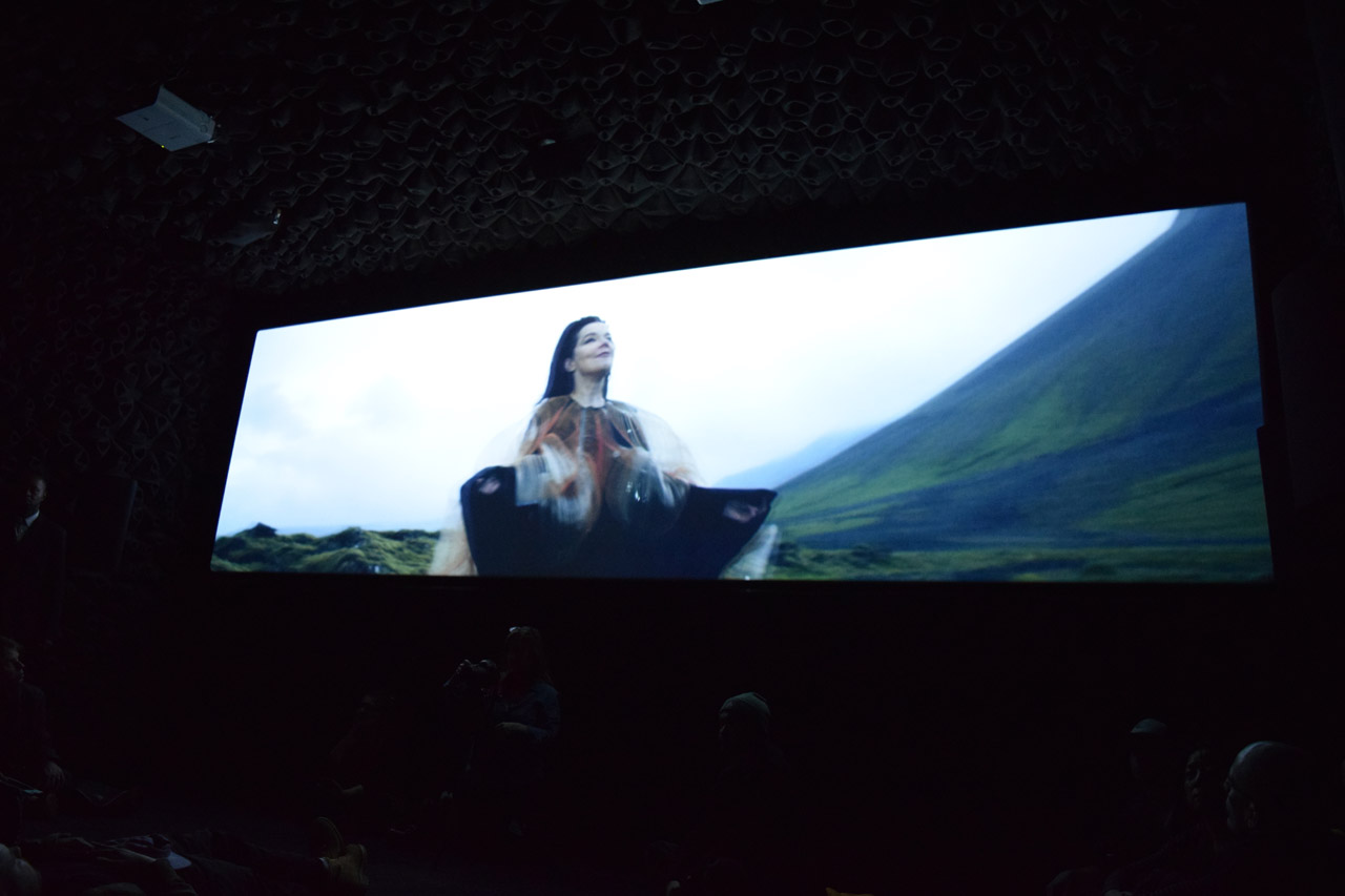 "Björk, still from ""Black Lake"""
