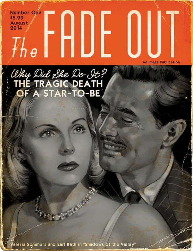 'The Fade Out,' first issue variant cover (image via howtolovecomics.com)