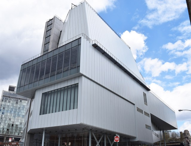 The exterior of the new Whitney Museum (all photos by the author for Hyperallergic)
