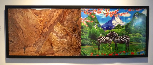 """Sammy Baloji, """"Raccord #5,"""" at Axis Gallery's booth (click to enlarge)"""