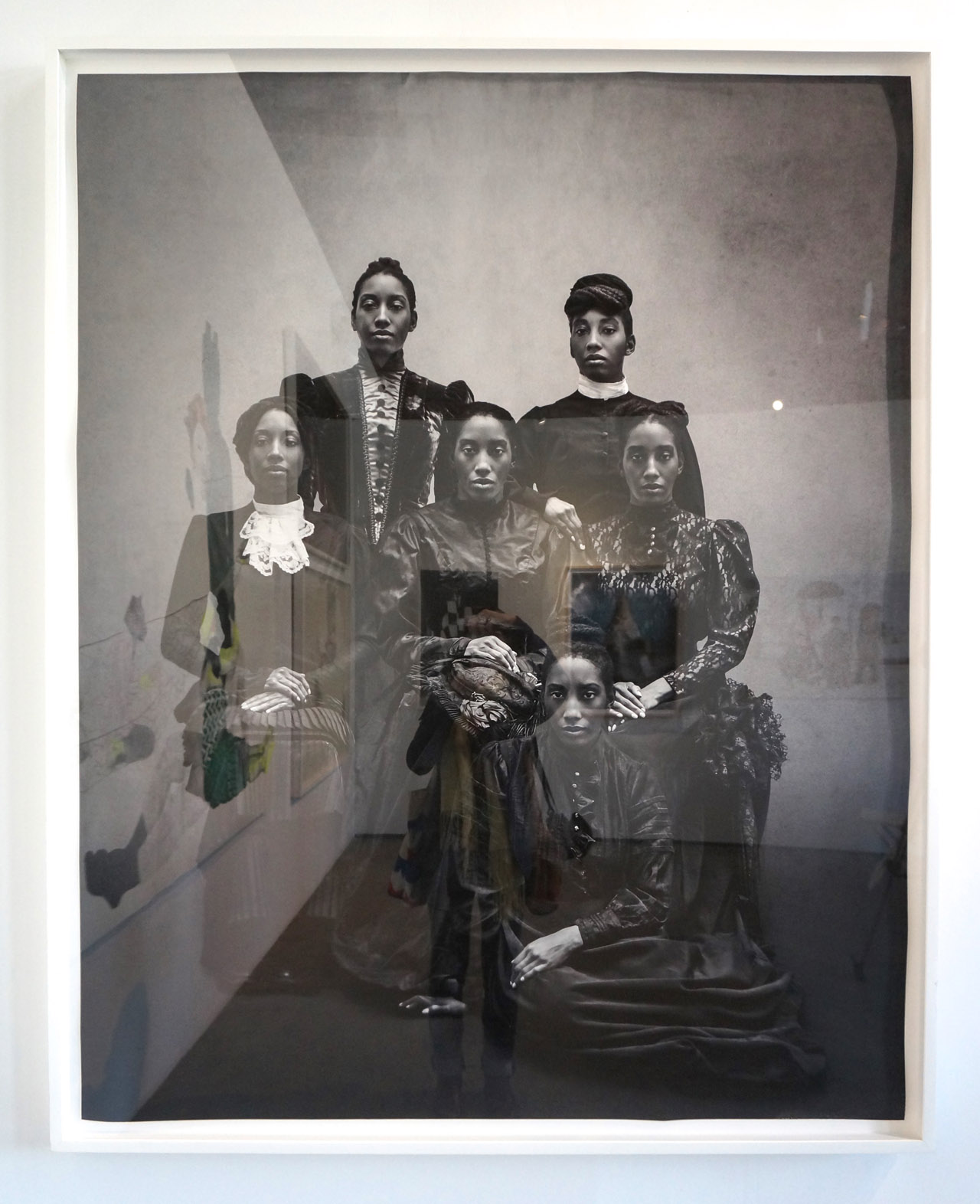 Work by Ayana V. Jackson at Mariane Ibrahim Gallery