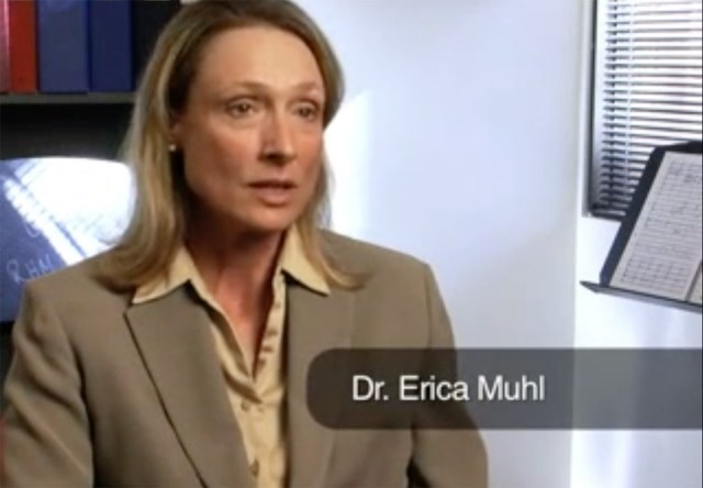 Dean Erica Muhl speaking to Artists House Music (via Artists House Music's YouTube channel)