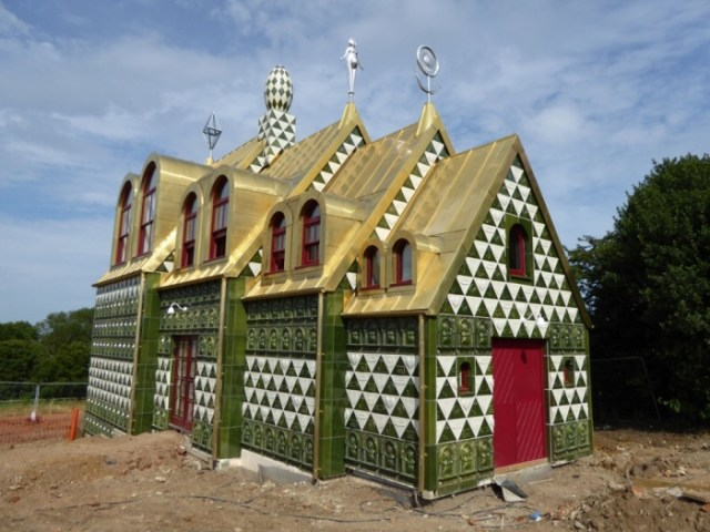 """Artist Grayson Perry has a long-held dream to build a """"Taj Mahal"""" in Essex, England. A place people could even rent out. And it's happening … (via Guardian)"""