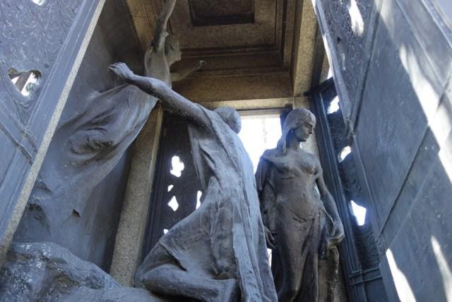 Samuel Untermyer memorial sculpted by Gertrude Vanderbilt Whitney at Woodlawn Cemetery
