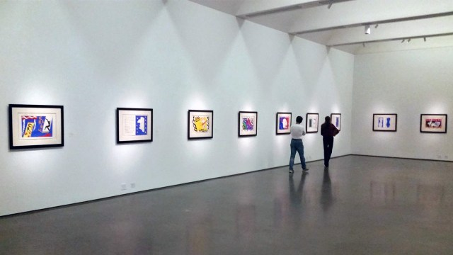 A view of the Matisse exhibition (photo by the author for Hyperallergic)