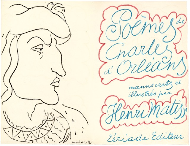 Henri Matisse's cover for 