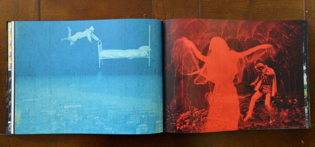 Pages from 'Fantasia of Color in Early Cinema' (photos of the book for Hyperallergic)