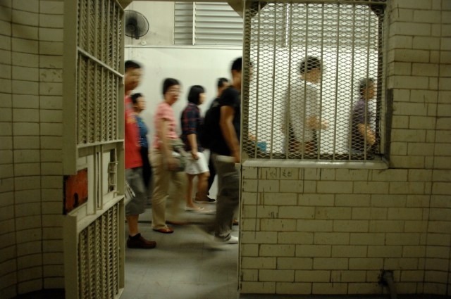One of the preserved cells of the courthouse (courtesy National Gallery Singapore, via Flickr)