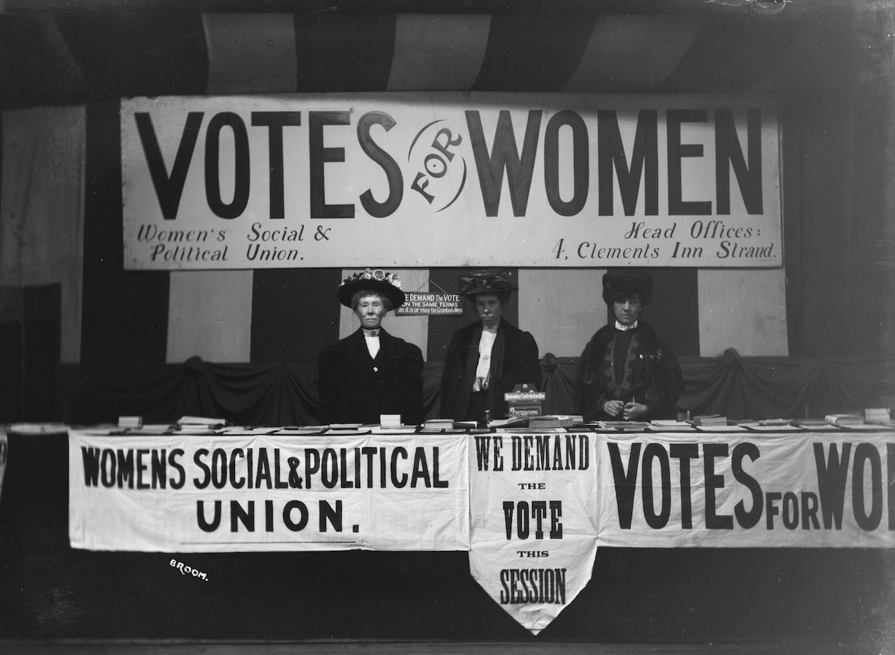 Image result for women's social and political union