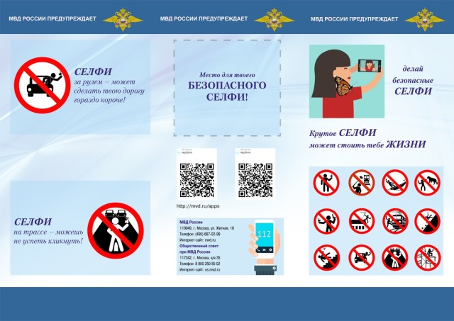 """The guide has an area for you to """"place your danger-free selfie"""""""