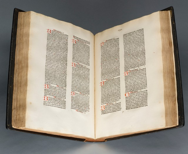Bartholomaeus Anglicus, 'De proprietatibus rerum (On the Properties of the Things)' (1472), Cologne: Johann Schilling for William Caxton (courtesy the Morgan Library & Museum)