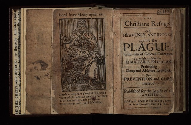 Frontispiece of 'The Christians Refuge' (via Wellcome Images)