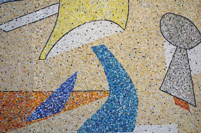Mosaic by Max Spivak at 5 Bryant Park