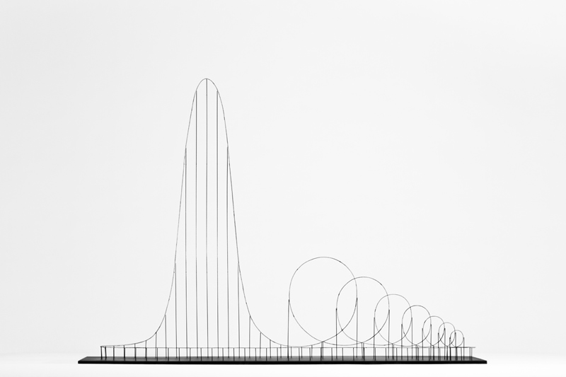 Julijonas Urbonas (Lithuanian, b. 1981). Design Interactions Department (est. 1989), Royal College of Art (UK, est. 1837). Euthanasia Coaster. 2010. Medical advisor: Dr. Michael Gresty, Spatial Disorientation Lab (est. 2003), Imperial College, London (est. 1907). Model making: Paulius Vitkauskas. Photography: Aistė Valiūtė and Daumantas Plechavičius. Video: Science Gallery (est. 2008), Trinity College Dublin (est. 1592). Video footage (human centrifuge training): William Ellis. Image and video courtesy of the artist
