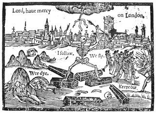 'Lord, have mercy on London' (1370) (via Wikimedia)