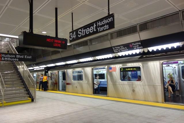 34th Street–Hudson Yards subway station