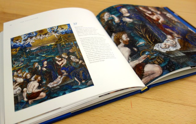 Pages from 'Limoges Enamels at the Frick Collection' (photo of the book for Hyperallergic)