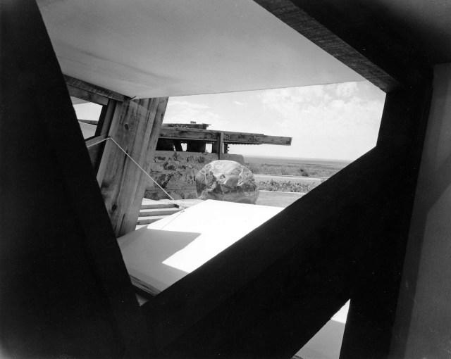 Frank Lloyd Wright's Arizona home, Taliesin West, 1940, photographed by Pedro E. Guerrero (©2015 Pedro E. Guerrero Archives)