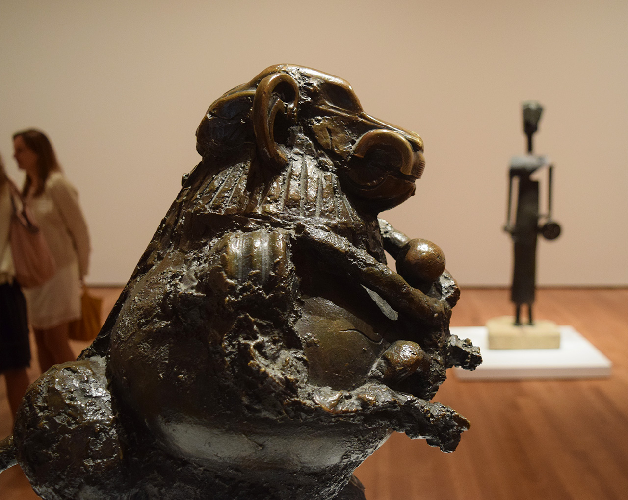 """Detail of Pablo Picasso's """"Baboon and Young"""" (1951)"""