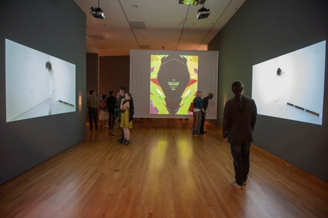 Installation view of 'Disguise: Masks and Global African Art' (image courtesy the Seattle Museum of Art)