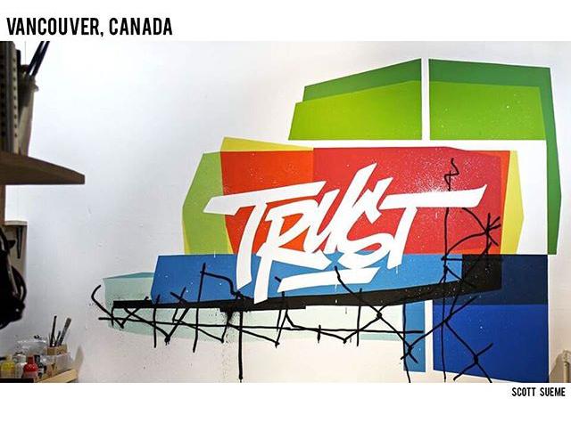 """""""Trust"""" by Scott Sueme (image via @justinbieber/Instagram)"""