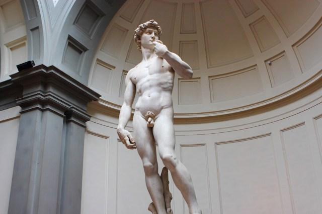 "Michelangelo's ""David"" (Image via Flickr/Justin Ennis)"
