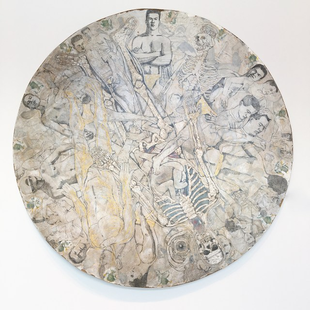 "Michael Meads, ""Wheel of Misfortune"" (1995) (image courtesy Ogden Museum of Southern Art, New Orleans)"
