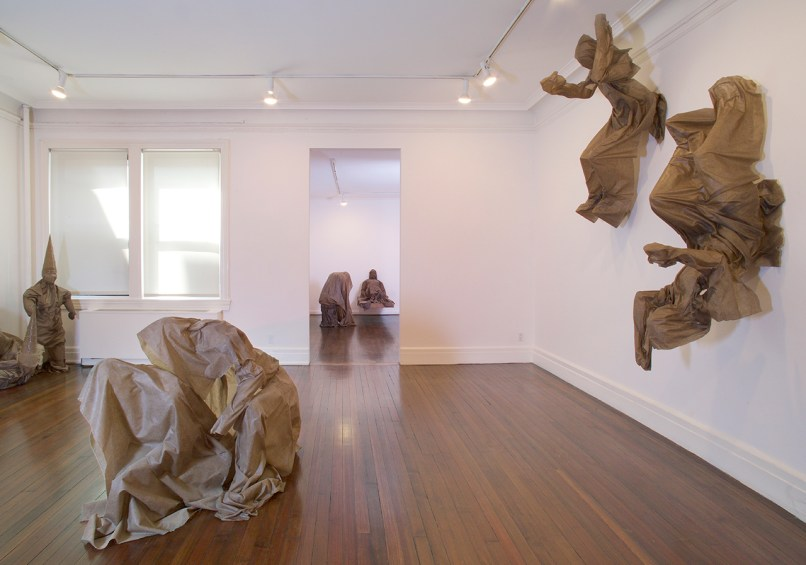 Installation View Robert Morris Moltingoskeletonsshrouds At Castelli Gallery All Images Courtesy