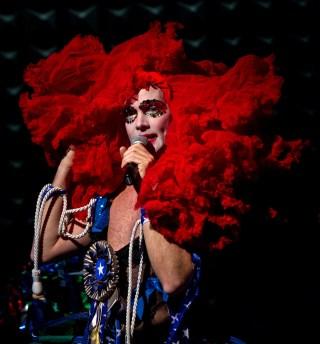 Taylor Mac in 'A 24-Decade History of Popular Music' (photo by Kevin Yatarola)