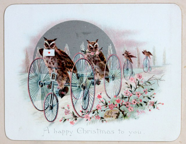 """A happy Christmas to you"" (late 19th century (via Royal Pavilion & Museums, Brighton & Hove)"
