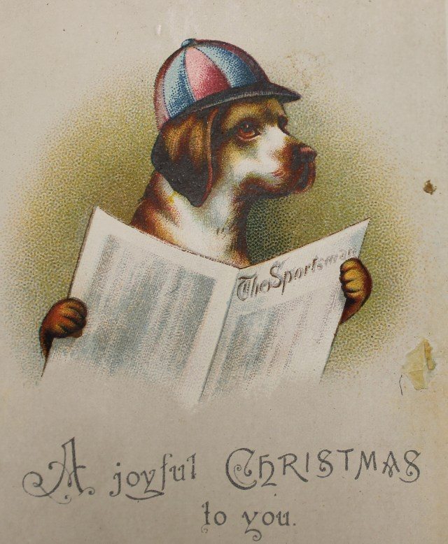 """A joyful Christmas"" (via Derbyshire County Council Record Office)"