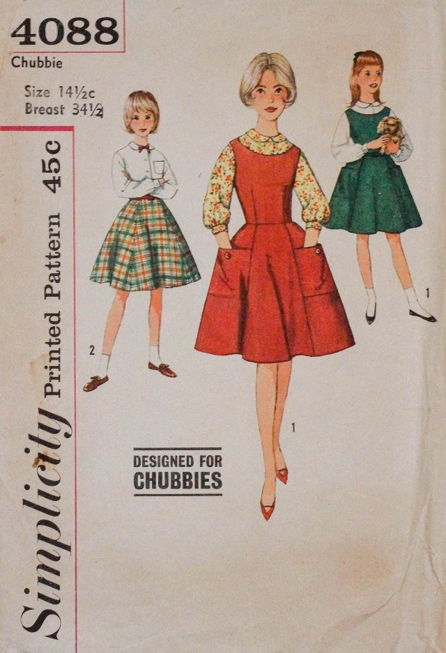Chubbie Printed Pattern 1961 Simplicity Pattern Company Inc Private collection