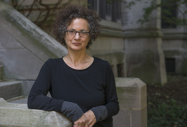 Lauren Berlant, the George M. Pullman distinguished service professor in the department of English, Monday, July 28, 2014, on the University of Chicago campus. (Robert Kozloff/The University of Chicago)