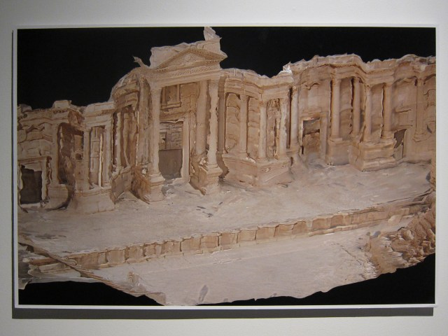 "Palmyra Photogrammetry (Conan Parsons), ""Digital 3D model of Theater, Palmyra, Syria (in-progress) (2015)"