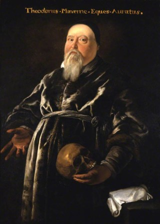 Portrait of Sir Theodore de Mayerne (17th century) (courtesy Royal College of Physicians/The Public Catalogue Foundation)