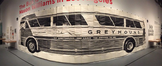 "Mason Williams's life-sized ""Bus"" (1967) is the focus of an exhibition of his LA-based conceptual work."