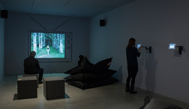 Installation view, 'List Projects: Ann Hirsch' at MIT List Visual Arts Center (photo courtesy MIT List Visual Arts Center)