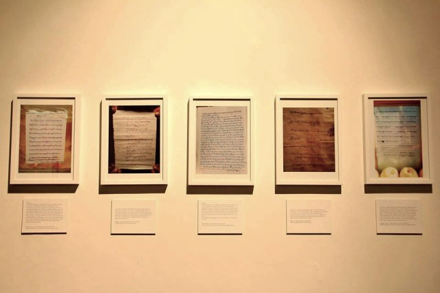 Ritu Sarin and Tenzing Sonam's 'Last Words' on display at the Dhaka Art Summit before censorship