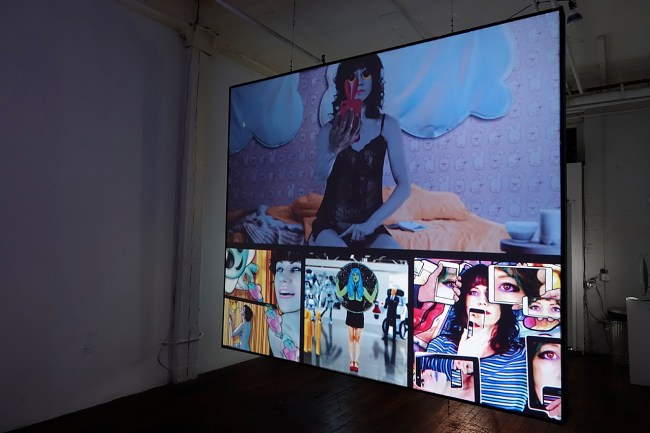 Bunny (installation view) photo courtesy of Susan Silas