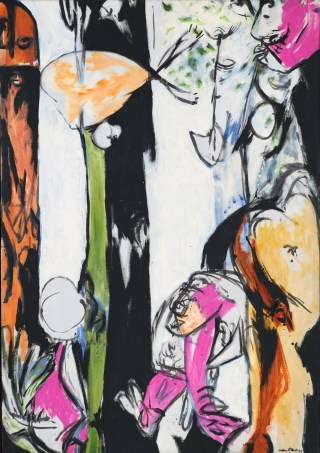 """Jackson Pollock, """"Easter and the Totem"""" (1953) (image courtesy of MoMA, © 2016 Pollock-Krasner Foundation / Artists Rights Society, New York)"""