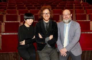 The staff of Metrograph, left to right: Aliza Ma, Alexander Olch, and Jake Perlin (photo by Takako Ida)