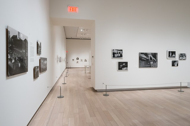 Installation view, 'The Light Inside: Wendy Snyder MacNeil, Photographs and Films' (2016) (© Larissa Issler) (click to enlarge)