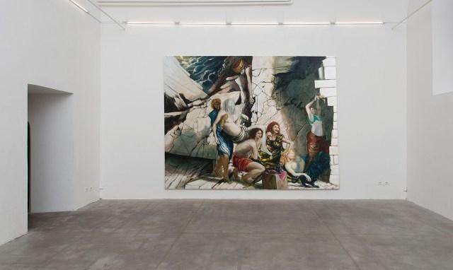 Installation view, 'Thomas Braida' (2016), Monitor, Rome (photo by Giorgio Benni, courtesy the artist and Monitor, Rome) (click to enlarge)