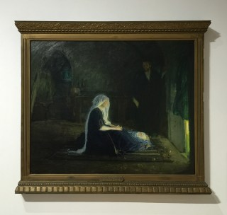"Henry Ossawa Tanner, ""The Holy Family"" (1810) (click to enlarge)"