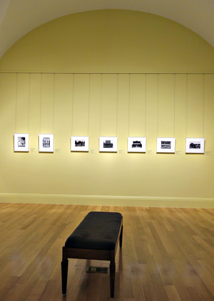 Installation view of 'No Mountains in the Way: Photographs from the Kansas Documentary Survey, 1974' at the Smithsonian American Art Museum (photo by the author for Hyperallergic)